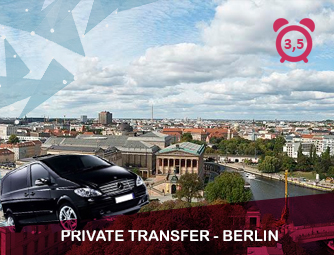 Tour and Transport to Berlin for 1 - 8 people