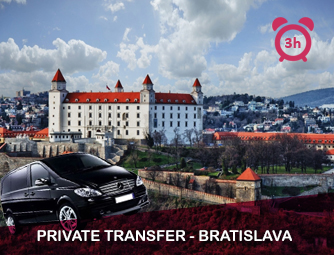 Tour and Transport to Bratislava for 1 - 8 people