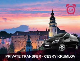 Tour and Transport to Český Krumlov for 1 - 8 people