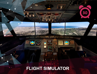 Flight simulator Prague