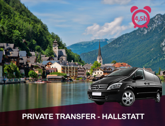 Tour and Transport to Hallstatt for 1 - 8 people