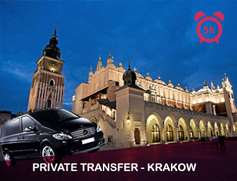 Tour and Transport to Krakow for 1 - 8 people