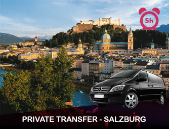 Tour and Transport to Salzburg for 1 - 8 people