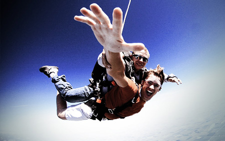 skydiving big