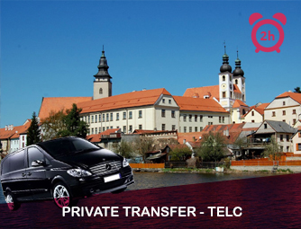 Tour and Transport to Telč for 1 - 8 people