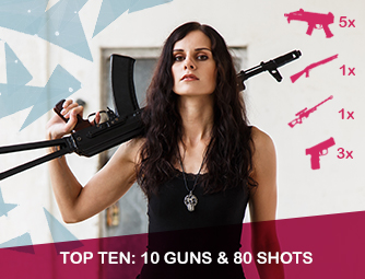 Top Ten: 10 guns & 80 shots